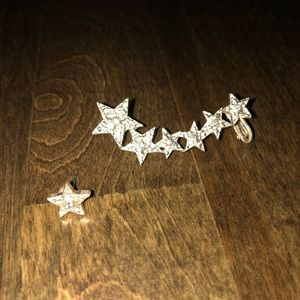 ⭐️Star Earring Cuff Set⭐️